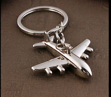 Classic 3D Simulation Model airplane plane Keychain Key Chain Ring Keyring G-20
