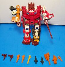 Transformers G1 Computron Technobots with Weapons 1987 Vintage Hasbro