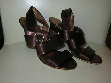 Gianna Meliani Italian leather sandals copper shimmer, size 36.5