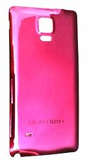 New PINK  Chrome  Battery  Back Cover For Samsung Galaxy Note 4 N9100 US FL