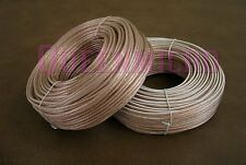 2 Rolls x 100Ft 16 AWG Gauge High Quality Speaker Wire Home Car Audio Cable 100'