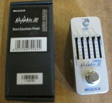 New Mooer Graphic B Bass Equalizer  Pedal