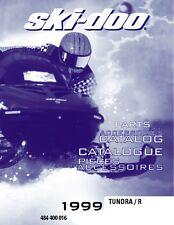 Ski-Doo parts manual catalog book 1999 TUNDRA R & 1999 TUNDRA