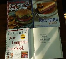 Cook Books Lot of 4 American Country Inn Bed & Breakfast, Mr Food, Ladies Home