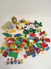 GROS LOT LEGO DUPLO REF 5634 Le repas des animaux du zoo OCCASION + DIVERS VRAC