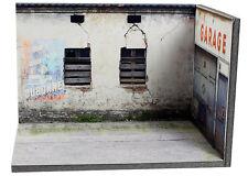 Diorama présentoir Garage abandonné (3 faces) - 1/43ème - #MR43N001