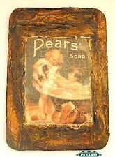 Superb Framed Pears' Soap Advertising Postcard