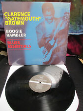 CLARENCE GATEMOUTH BROWN - LP Boogie Rambler Blues Essentials Okie Dokie Stomp