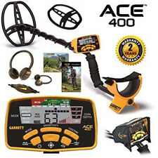 New! GARRETT Ace 400 Metal Detector - Free Shipping - 5 Free Accessories