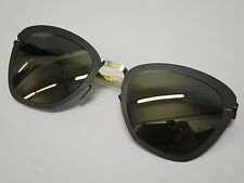 Mykita DECADES JOSEPPA Black Gold Coal Flash Glasses Eyewear Sunglasses Shade