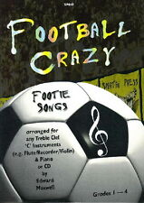 Maxwell: Football Crazy for Instruments in C & Piano/CD SP845