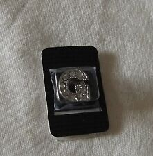 Necklace Bracelet Charm Bead Crystal Silver Tone Letter Initial Monogram G