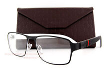 Brand New GUCCI Eyeglass Frames 2271 M5B Black/White Men Women 100% Authentic