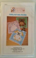 Cuddly Soft Baby Blankies Afghan Patterns By Craft Designs For You
