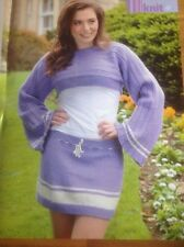 Shrug & Skirt Knitting Pattern - Biggan Dups
