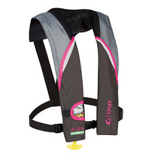 New Onyx A-24 In-Sight Automatic Inflatable Life Jacket Lifevest (PFD) - Pink