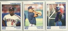 Albert Belle 1991 Star Company Indians Rookie Guild 11-Card Glossy BB Set #/250