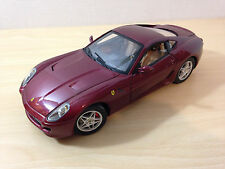 Hot Wheels Elite 2006 Ferrari 599 GTB Fiorano Red Diecast Car 1:18 Scale