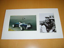 Stirling Moss F1 Genuine signed authentic autograph UACC / AFTAL