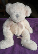 "LARGE RUSS BERRIE MILLENNIUM TEDDY BEAR 15"" PLUSH SOFT CUDDLY TOY FREE UK P&P"