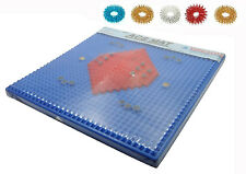 Acupressure Magnetic Pyramidal Therapy Energy Pain Relief Health Power Foot Mat