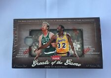 2005-06 Fleer Greats Of The Game Factory Sealed NBA Basketball Hobby Box Autos?