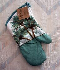 Palm Trees Oven Mitt Kay Dee Key West Pattern