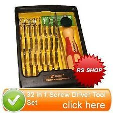 32 in 1 Precise Manual Screw Driver Tool Set T3 T5 DSi