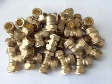 15mm Brass Compression Fittings Mixed Joblot