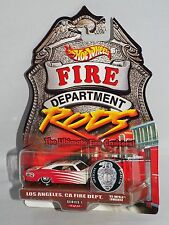 Hot Wheels Fire Department Rods Series 1 Los Angeles, CA '65 Impala Real Riders
