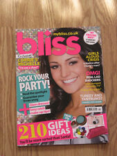 ►► English magazine Bliss January 2009 Michelle Keegan cover 01/09 UK