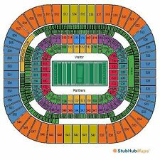 (2) Two Tickets Carolina Panthers vs Arizona Cardinals 10/30/16  Charlotte NC