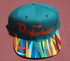 Miami Dolphins Custom Made Mitchell & Ness Snapback Tyga Rare Collectible Rap
