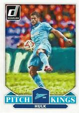 2015 Donruss Soccer 'Pitch Kings' #11 Hulk Zenit St Petersburg Brazil Brasil
