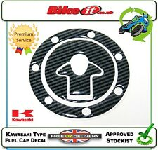 NEW MOTORCYCLE FUEL CAP COVER DECAL CARBON EFFECT KAWASAKI ZXR750 ZXR 750 ZX750