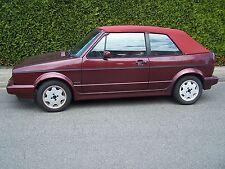 VW Golf 1 Cabrio Verdeck Stoff original Aigner rot Cabrioverdeck Verdeckbezug