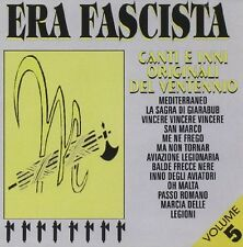 Era Fascista Vol.5 - Artisti Vari CD FONOTILCD