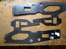HENSELEIT 3D NT CARBON FIBRE MAIN FRAME SECTIONS & SPACERS