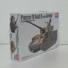 Academy 13233 1/35 Plastic Model Kit Panzer IV Aust. H With Armor NEW