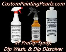 Plasti Dip Pre Dip, Dip Dissolver, Dip Car Wash Concentrate Kit Bundle Free S/H
