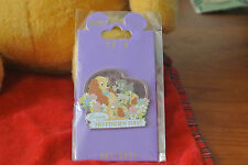 WDI Walt Disney LADY & PUPS MOTHERS DAY Lady and the Tramp Scamp LE 250 Pin