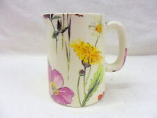 meadow flowers mini cream jug pitcher by Heron Cross Pottery