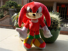 "New Tomy Sonic Boom Sonic The Hedgehog Knuckles 8"" 25Th Anniversary Plush Toy"