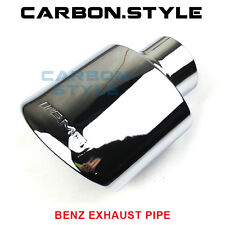1PCS AMG Type Exhaust Pipe For Mercedes-Benz W204 W211