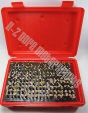 .061 to .250 Steel Pin Gage Set - ZZ Class Minus - 190 Pieces Carburetor Set-up