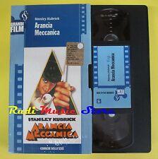 film VHS ARANCIA MECCANICA S. Kubrick CARTONATA CORRIERE DELLA SERA  (F9) no dvd