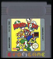 MARIO & YOSHI Gameboy Game Boy Versione Italiana ••••• SOLO CARTUCCIA