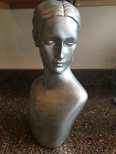 Silver Painted Jewelry Mannequin