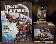 Transformers Dark of the Moon Complete Master Set of 252 Trading Cards in Binder