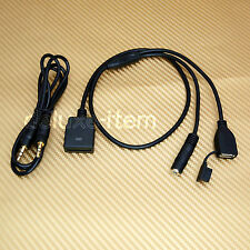 MP3 Audio IN IPHONE 5 IPOD Touch Nano 7 3.5mm USB Cable for Bose Sounddock Dock